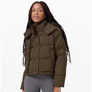 Lululemon Wunder Puff Cropped Jacket NWT sz2